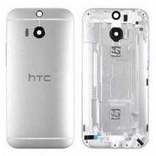 HTC One M8 задняя крышка (сер)