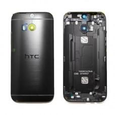 HTC One M8 задняя крышка (черн)