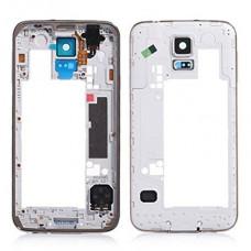 Samsung Galaxy S5 (G900) средняя часть корпуса (зол)